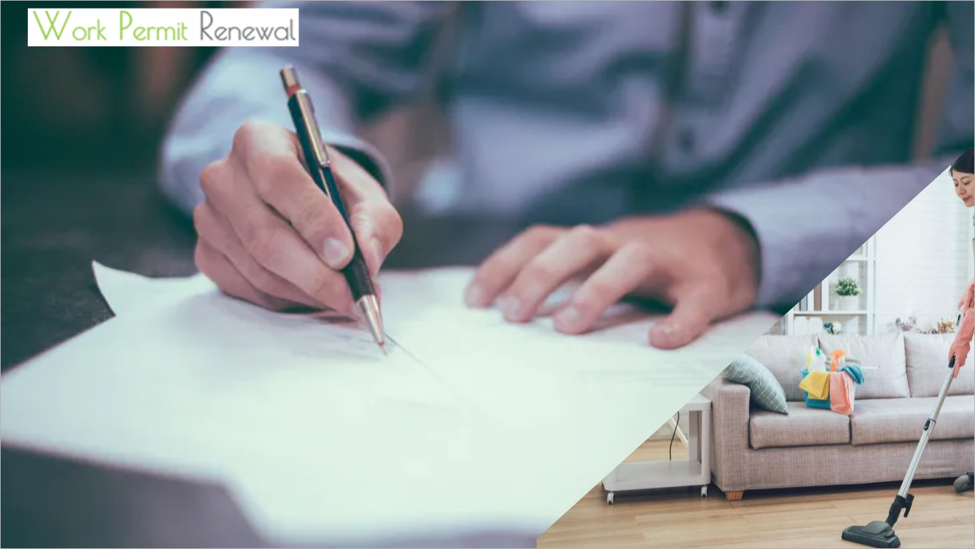 How to do FDW Work Permit Contract Renewal